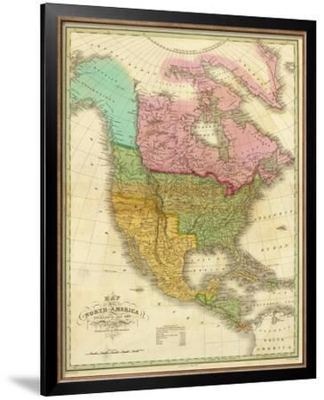 Map of North America Including All the Recent Geographical Discoveries, c.1826
