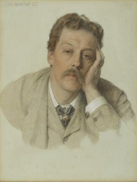 Charles Augustus Howell, 1882 by Anthony Frederick Augustus Sandys