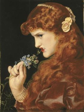 Love's Shadow, C.1867 by Anthony Frederick Augustus Sandys