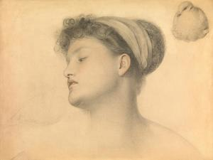 Study for Girl with Doves by Anthony Frederick Augustus Sandys