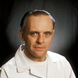 """ANTHONY HOPKINS. """"THE SILENCE OF THE LAMBS"""" [1991], directed by JONATHAN DEMME."""