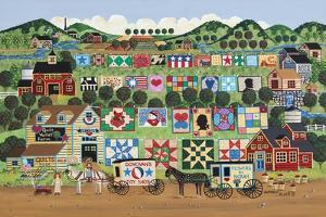 Quilt Valley Farm by Anthony Kleem