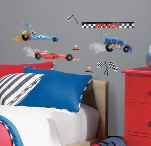 Anthony Morrow Race Car Peel & Stick Wall Decals