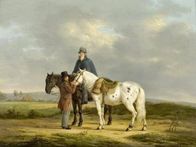 Two Riders in a Landscape