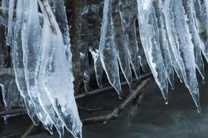 Ice Cicles Over Beaver Dam by Anthony Paladino