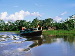 Rio Yanayacu Water Taxi on Nine-Hour Journey Through the Amazon to Iquitos by Anthony Pidgeon