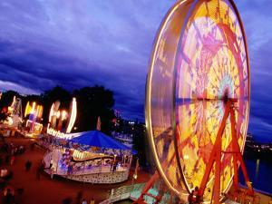 Rose Festival Waterfront Village Carnival, Tom Mccall Waterfront Park by Anthony Pidgeon