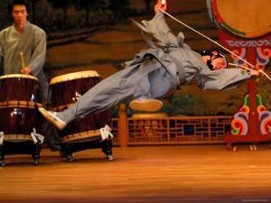 Dancer Performing at Korea House, Myong-Dong, Seoul, South Korea by Anthony Plummer