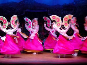 Dancers Performing at Korea House, Myeong-Dong, Seoul, South Korea by Anthony Plummer