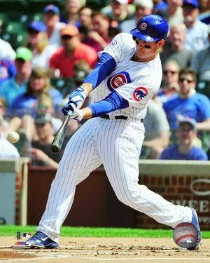 Anthony Rizzo 2015 Action