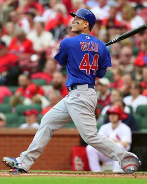 Anthony Rizzo 2016 Action