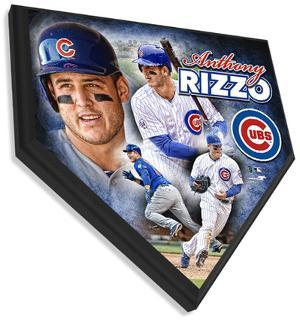 Anthony Rizzo Home Plate Plaque