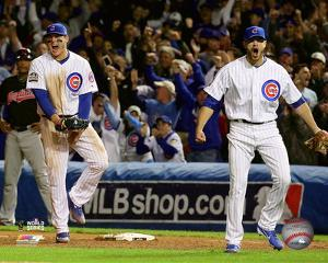 Anthony Rizzo & Justin Grimm Game 3 of the 2016 World Series