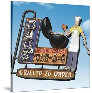 Dad's Southern Style Bar-B-Q by Anthony Ross