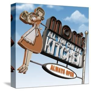 Mom's All-You-Can-Eat Kitchen by Anthony Ross