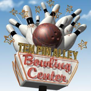 Ten Pin Alley Bowling Center by Anthony Ross