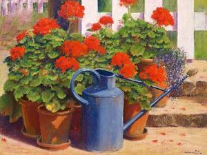 The Blue Watering Can, 1995 by Anthony Rule