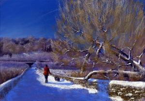 Winter Walk, 2012 by Anthony Rule