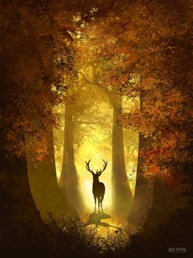Autumn Deer by Anthony Salinas