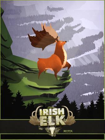 Big Buck Irish Elk by Anthony Salinas