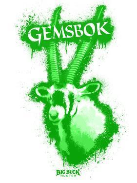 Gemsbok Spray Paint Green by Anthony Salinas