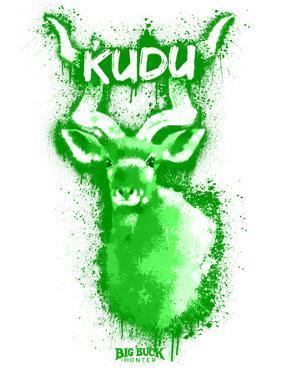 Kudo  Spray Paint Green by Anthony Salinas