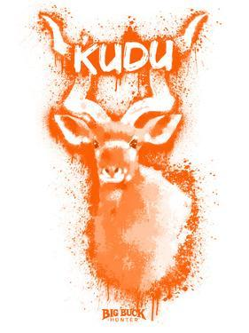Kudo  Spray Paint Orange by Anthony Salinas