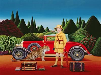Red Rolls Royce, 1992 by Anthony Southcombe