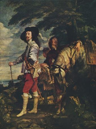 'Charles I at the Hunt', c1635 by Anthony Van Dyck