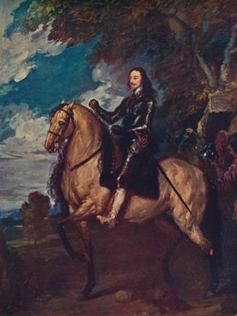 'Equestrian Portrait of Charles I', c1637, (c1915) by Anthony Van Dyck
