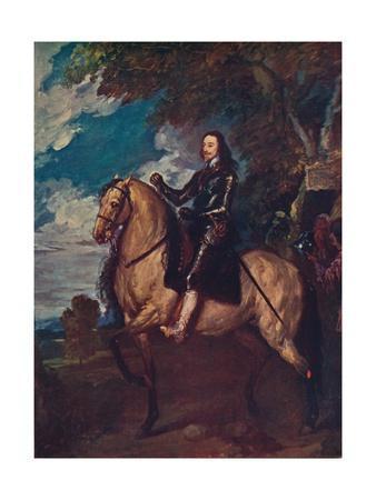 'Equestrian Portrait of Charles I', c1637, (c1915)