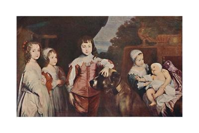 'Five Eldest Children of Charles I', 1637, (1903)