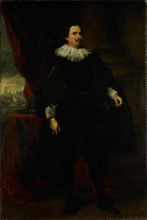 Portrait of a Man from the Van Der Borght Family, Perhaps Francois Van Der Borght by Anthony Van Dyck