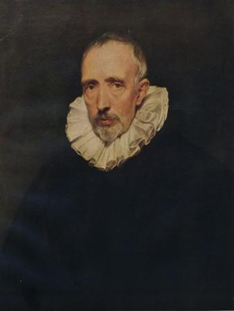 Portrait of Cornelius Van der Geest, c1620, (1938) by Anthony Van Dyck