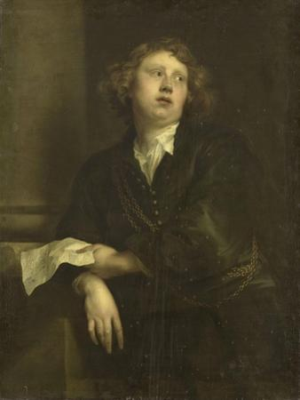 Portrait of Henricus Liberti, Composer and Organist by Anthony Van Dyck