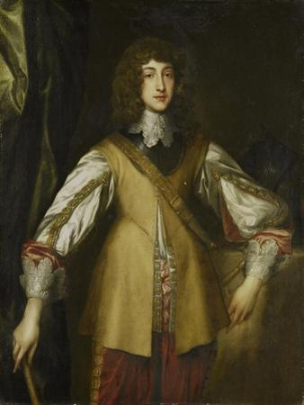 Portrait of Prince Rupert, Count Palatine of Rhine by Anthony Van Dyck