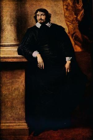 'Portrait of the Abbe Scaglia', 1634 by Anthony Van Dyck