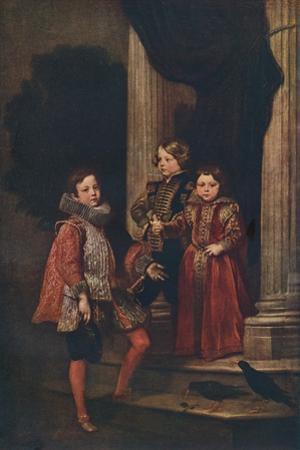 'The Balbi Children', c1625 by Anthony Van Dyck