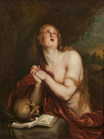 The Penitent St. Mary Magdalene, c.1630-40 by Anthony van Dyck