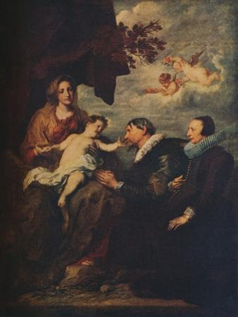 'The Virgin with Donors', c1630 by Anthony Van Dyck