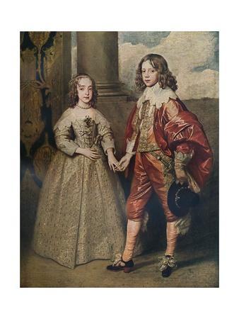 'William II, Prince of Orange, and his Bride, Mary Stuart', 1641 (c1927)