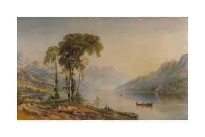 'Ben Venue from Loch Achray', 1840, (1935)
