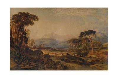 'Loch Awe', 1850, (1935)