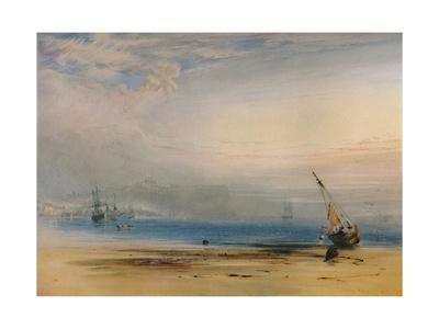 'Scarborough from across the Bay', 1850, (1935)