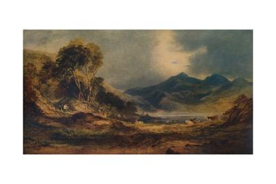'Snowdon over the Head of Traeth Mawr', 1853, (1935)