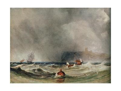 'Storm Off Whitby', 1851