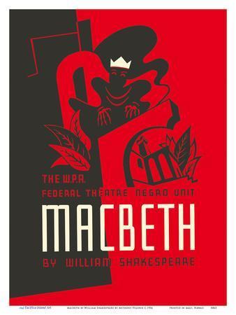Macbeth by William Shakespeare - The W.P.A. Federal Theatre Negro Unit
