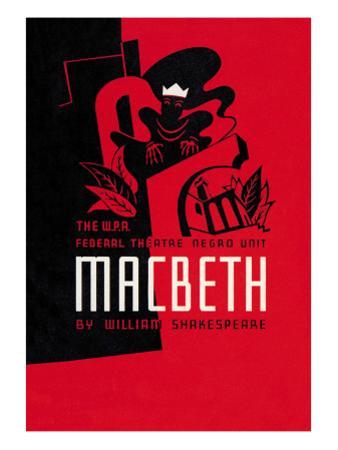 Macbeth: Wpa Federal Theater Negro Unit