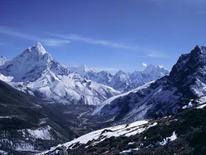 Ama Dablam Peak, Mt. Everest Region, Himalayas, Nepal by Anthony Waltham