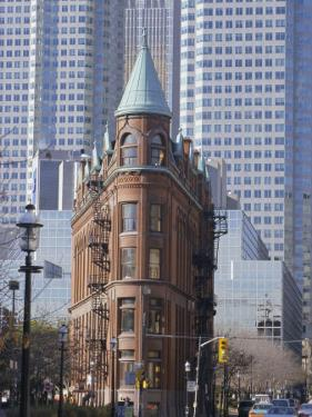 Old and New Buildings in the Downtown Financial District, Toronto, Ontario, Canada, North America by Anthony Waltham